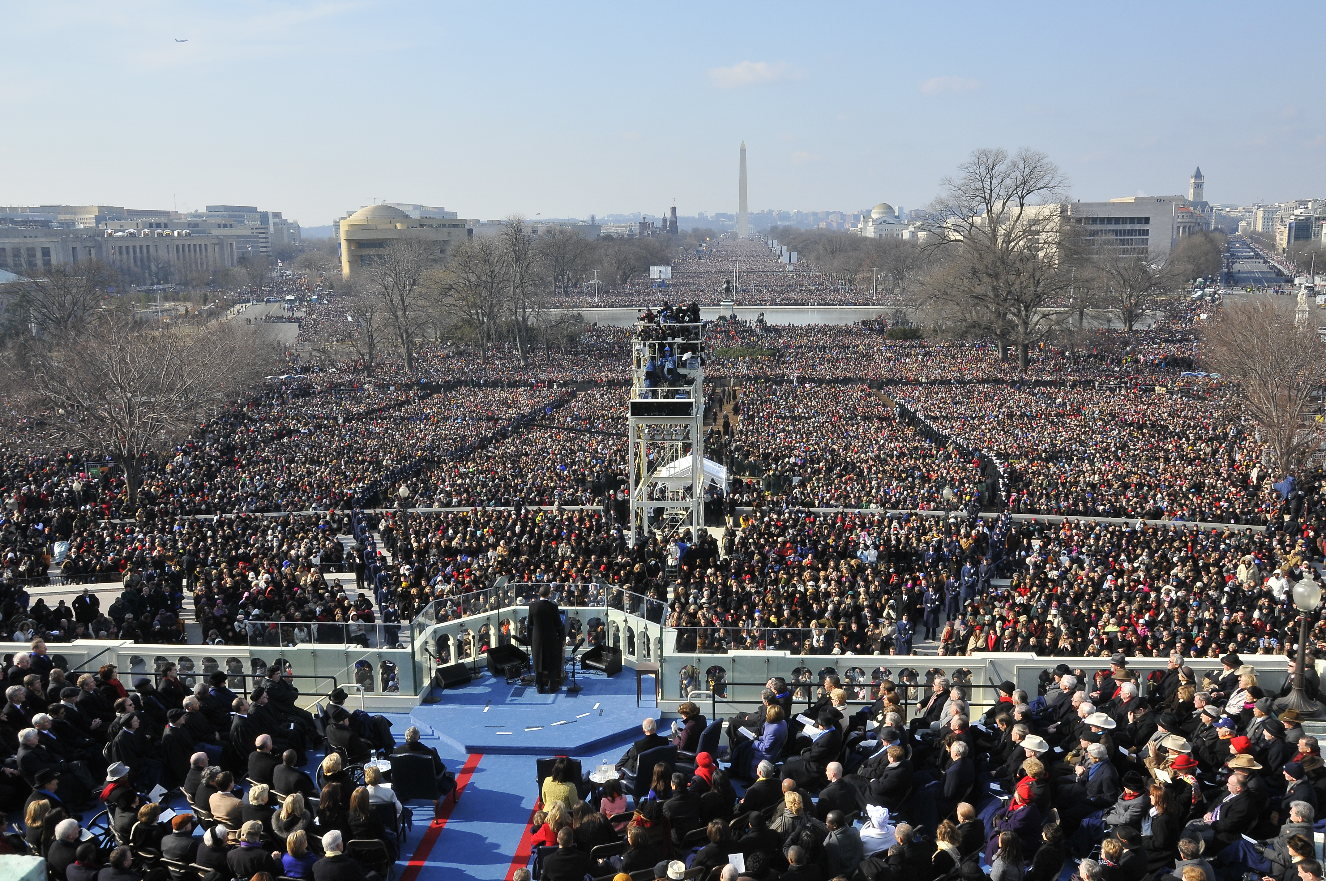 obama s inauguration speech rhetorical analysis Obama's second inauguration:  it together, obama said his speech was steeped in the language of the us constitution and in rhetorical references.