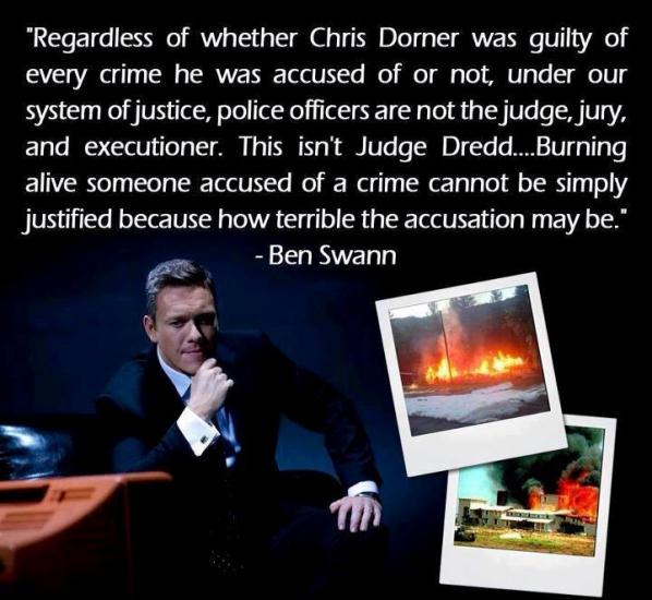 Quote from Ben Swann about Dorner