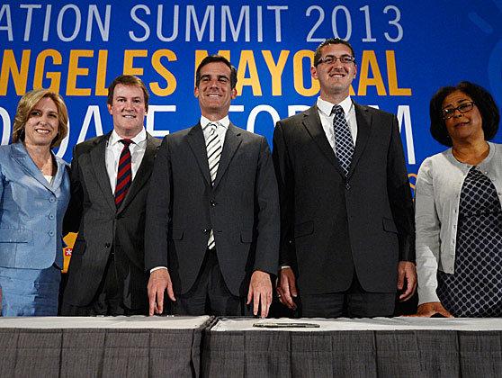 LA 2013 Mayoral Primary Candidates