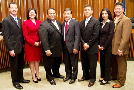Santa Ana City Council 2013