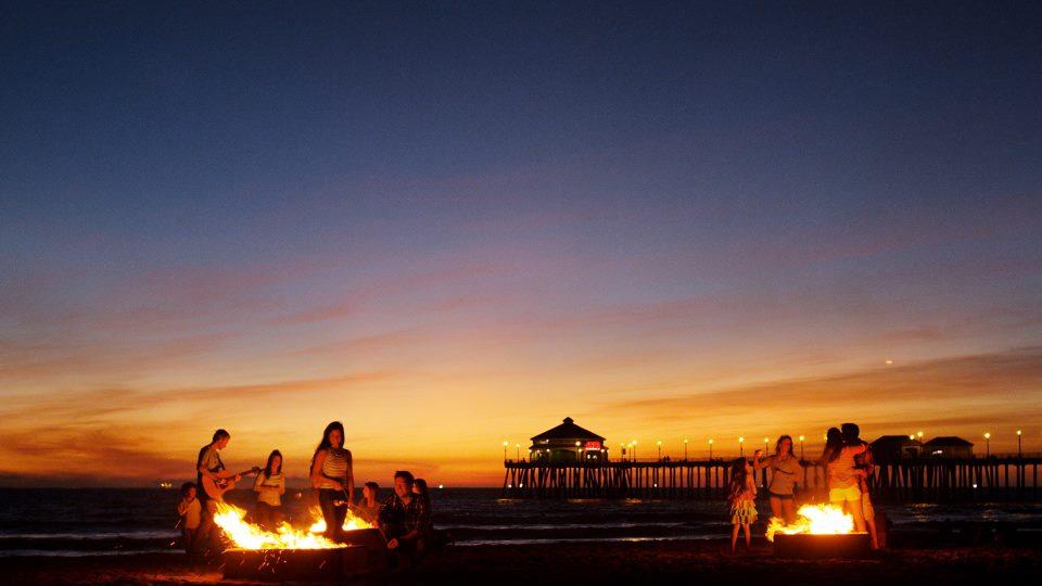 Bonfire Pits Huntington Beach Ca
