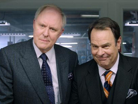 John Lithgow and Dan Ackroyd, featured here for reasons that do so make sense!