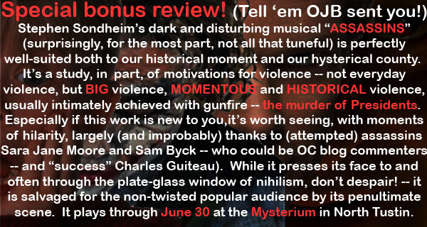 Review of Assassins at the Mysterium