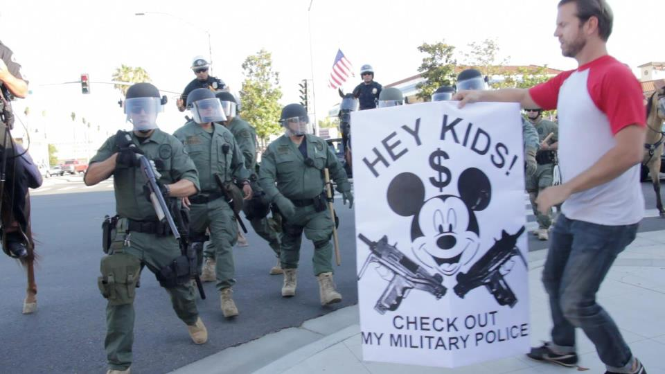 Anaheim Protester, 2012