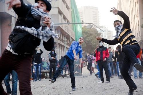 Egypt violence kids