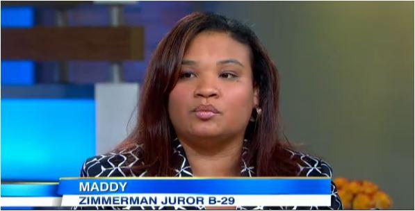 Zimmerman juror B-29