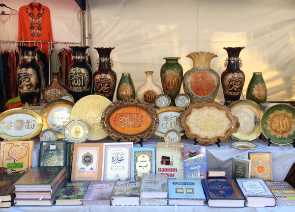 Eid fest  - pottery & books