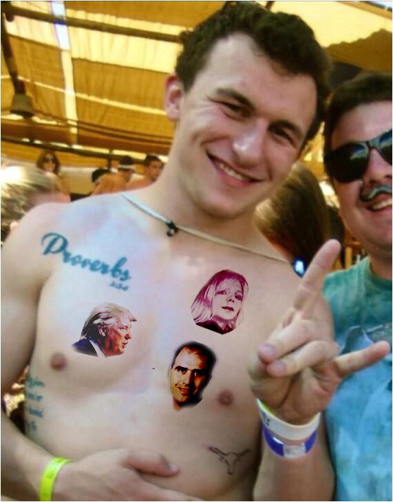 Manziel tattoed