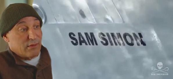 Two Sam Simons -- the man and the ship