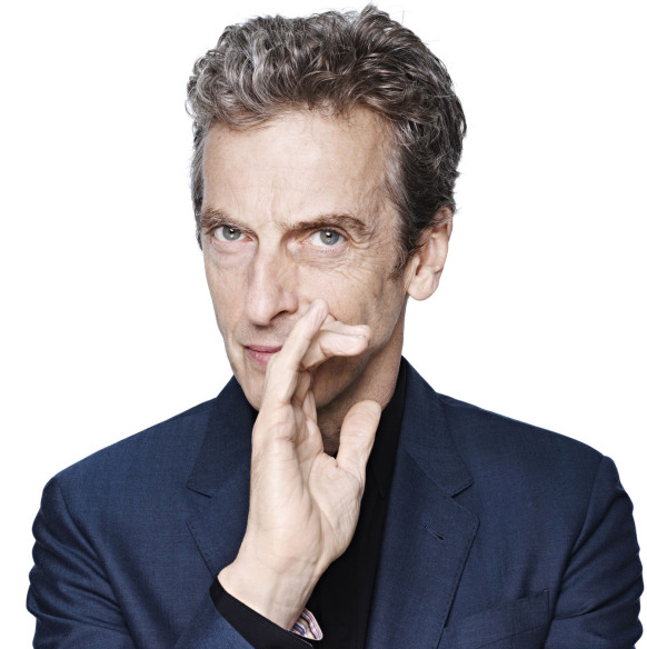 Peter Capaldi, about to become the 12th Doctor Who