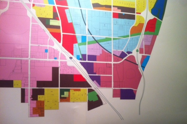 Anaheim map detail