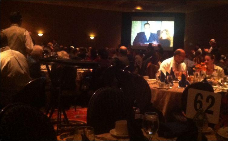 Truman Dinner 2013 - Sharon and the Speaker