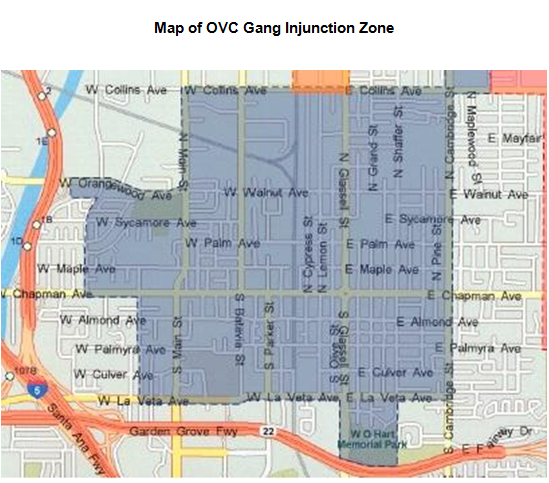 gang injunctions Court orders prohibiting police in la and elsewhere in california from enforcing gang injunctions are prompting le leaders to rethink how they employ the.