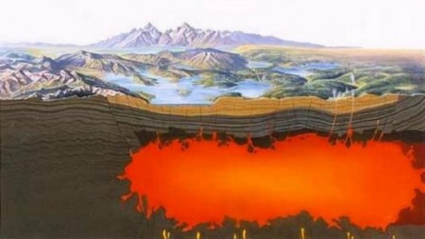 Yellowstone Magma Pocket