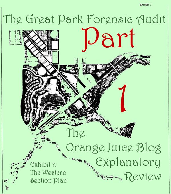 Great Park Audit, Part 1