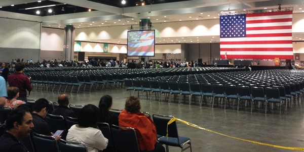 Naturalization - In the Back of the Hall