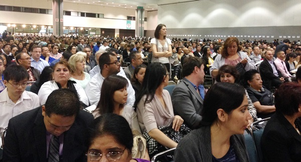 Naturalization - Many People BEHIND Us in the Hall