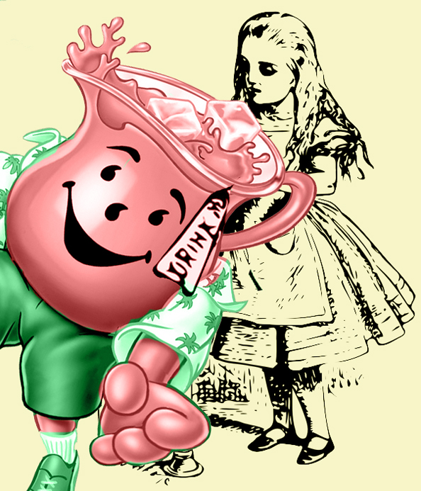 Alice and Kool-Aid Man