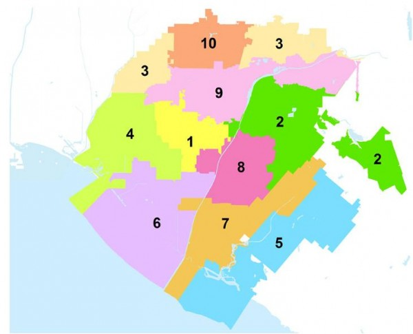 OCWD - Water District Seats by the Numbers