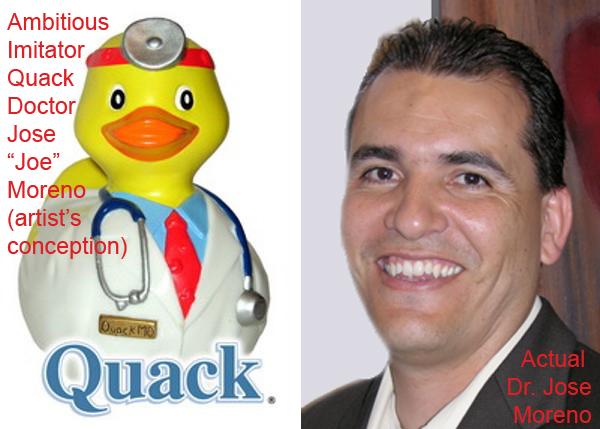 Moreno - Doctor vs Quack