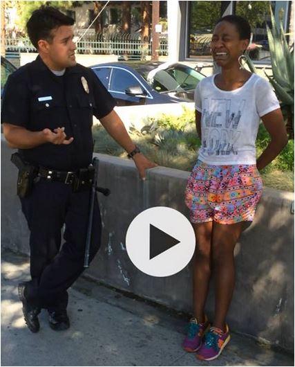 Black Woman Arrest for Kissing White Husband