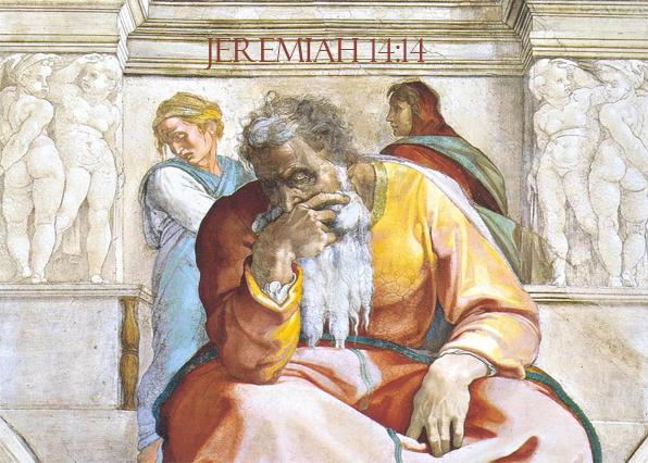 Jeremiah 14-14