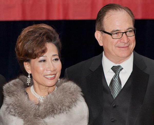 Mei Mei and Bob Huff