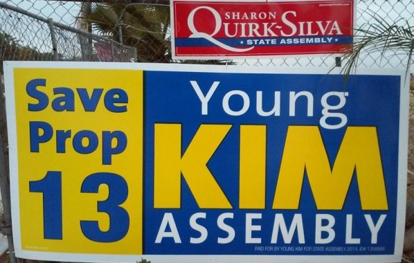 Young Kim's Big Lie on Prop 13