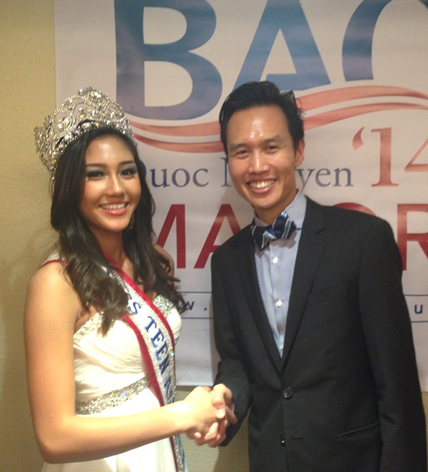 Bao with Miss Teenage Asia