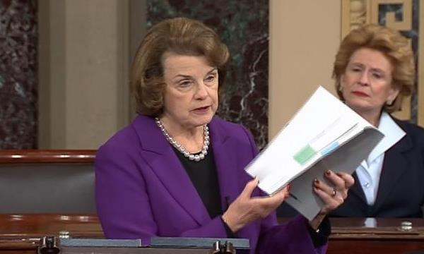 Feinstein with CIA Torture Report