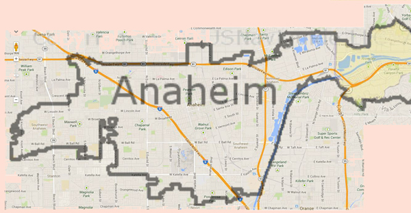 orange county convention center map with Map Of Anaheim California on Anaheim Ca purzuit also Bet Awards 2012 Ford Hot Spot in addition Ap further Aerial Views Maps together with Amenities.