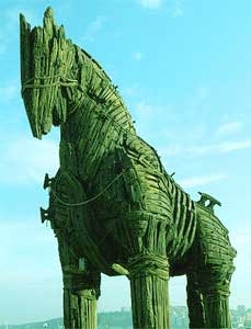 green trojan horse