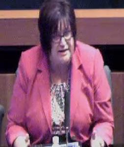 OJ Blog - the only place you can find a photo of Debbie Moreno, Anaheim's de facto treasurer.