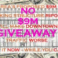 [Cross-posted from THE BREAN, where I also spend some of my bloggin' time.] Here it comes — as suddenly aspredicted, as ridiculous as expected:it's the $9,000,000 parking structure giveaway. On […]