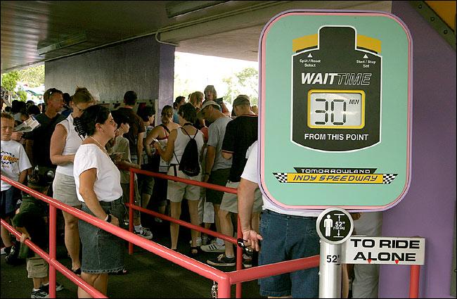 disney queue