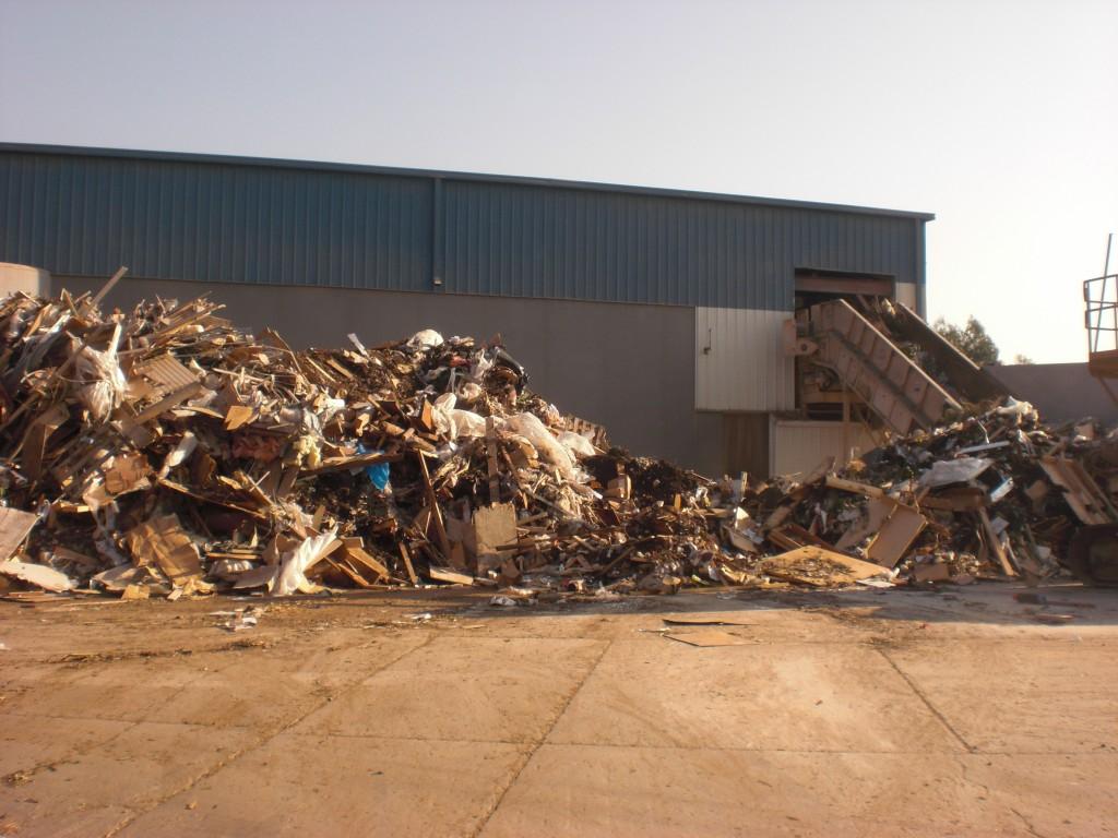 industrial trash