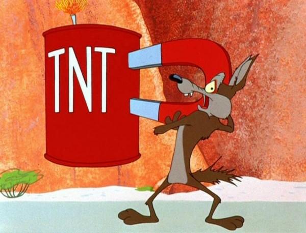 TNT Wile E Coyote