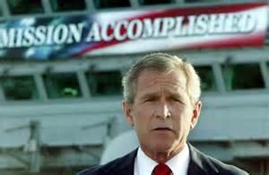 bush mission accomplished