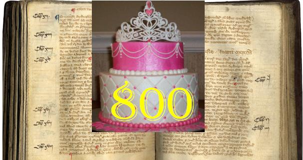 magna carta birthay cake