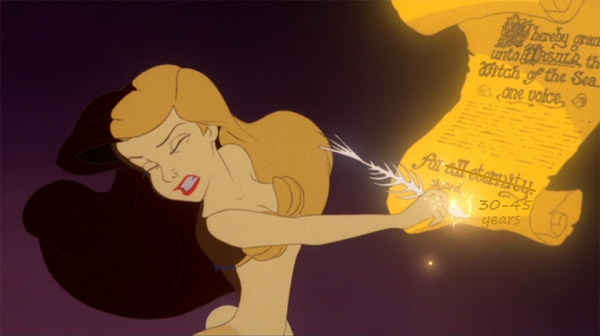 Ariel's Bad Contract