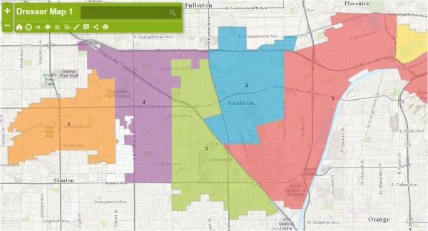 July 1 Anaheim Maps - Dresser