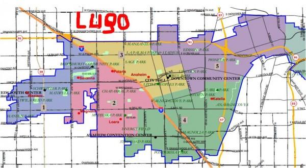 July 1 Anaheim Maps - Lugo