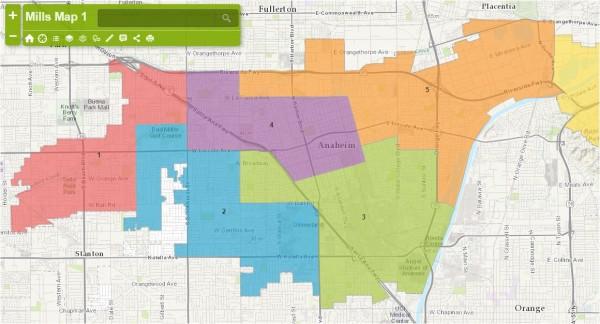July 1 Anaheim Maps - Mills