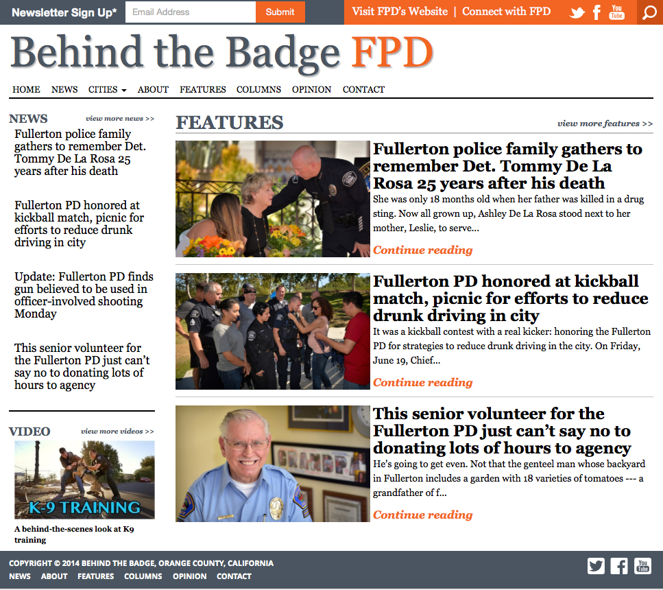 behind the badge fpd