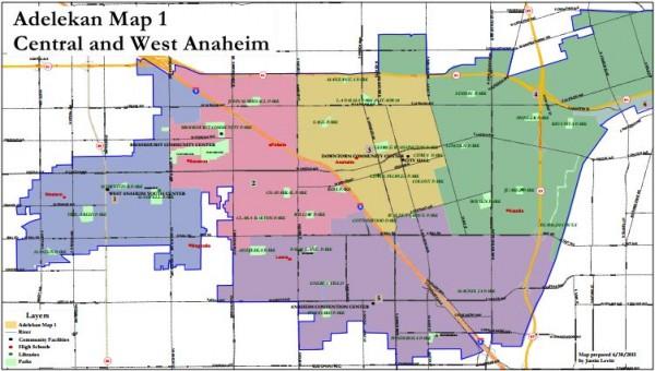 Anaheim Maps - Adelekan
