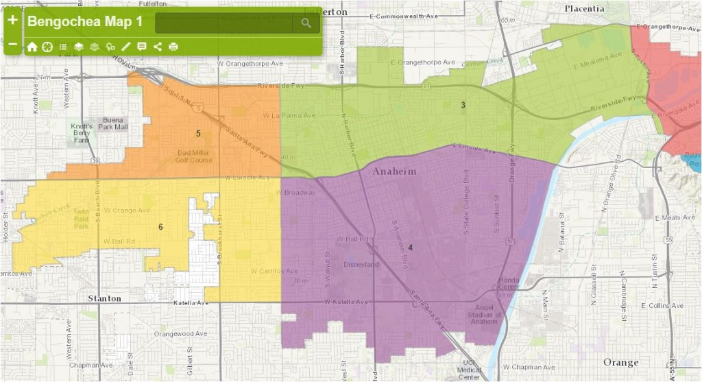 Anaheim Maps - Bengochea