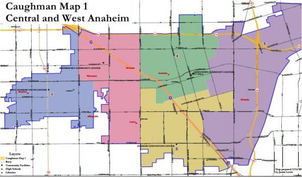 Anaheim Maps - Caughman