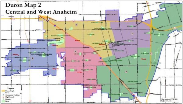 Anaheim Maps - Duron 2