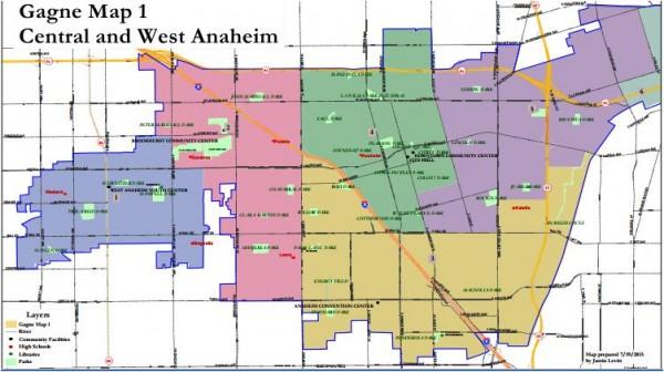 Anaheim Maps - Gagne