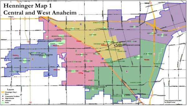 Anaheim Maps - Henninger